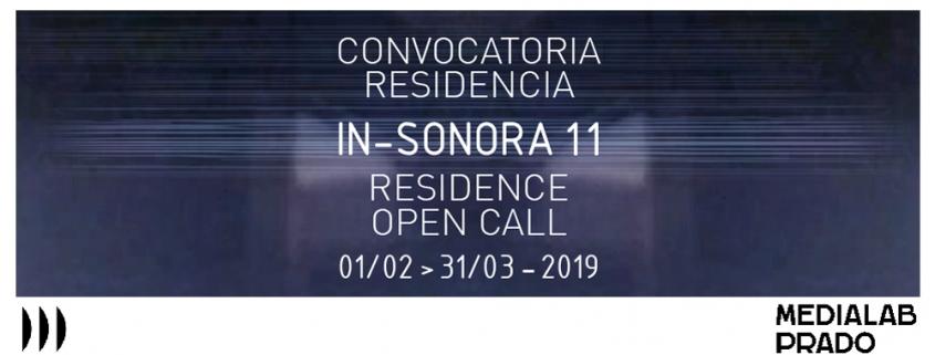 Convocatoria IN-SONORA11 Residencia Medialab Prado
